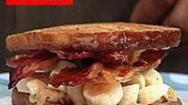 The Elvis Bacon Peanut Butter And Banana Sandwich Good Food Channel