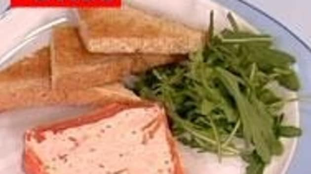 Fresh And Smoked Salmon Terrine Good Food Channel