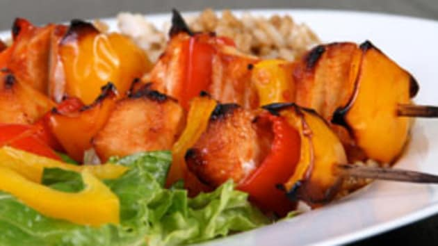 Sweet And Sour Chicken Skewers Good Food Channel