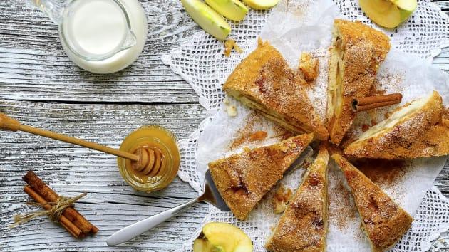 Swedish Apple Cake Good Food Channel