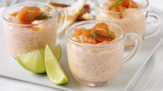 Classic Smoked Salmon Mousse Good Food Channel