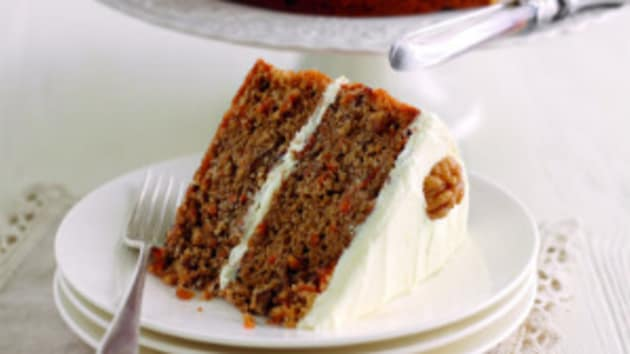 Mary berrys carrot and walnut cake good food channel mary berrys carrot and walnut cake forumfinder Images