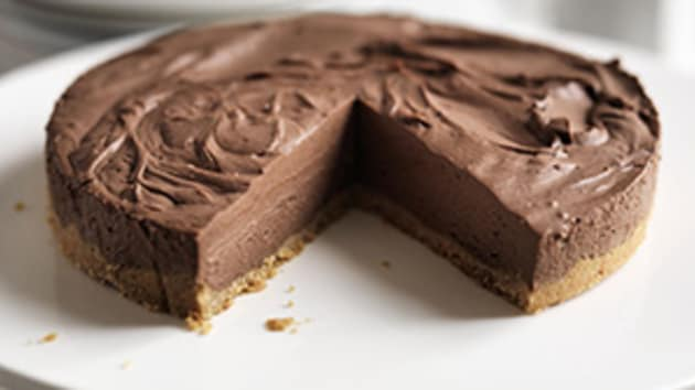 Easy chocolate cheesecake good food channel easy chocolate cheesecake forumfinder Image collections
