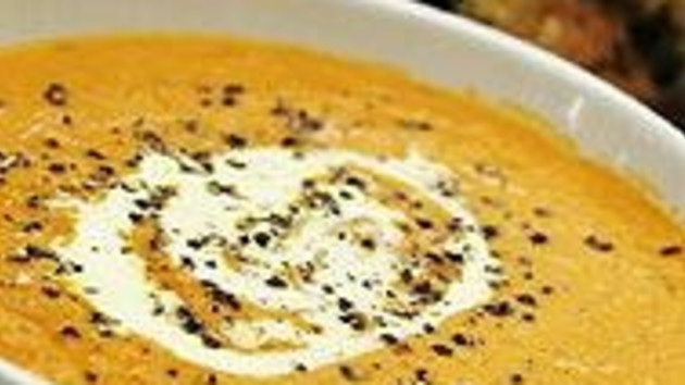 Spicy pumpkin coconut soup good food channel spicy pumpkin coconut soup forumfinder Image collections