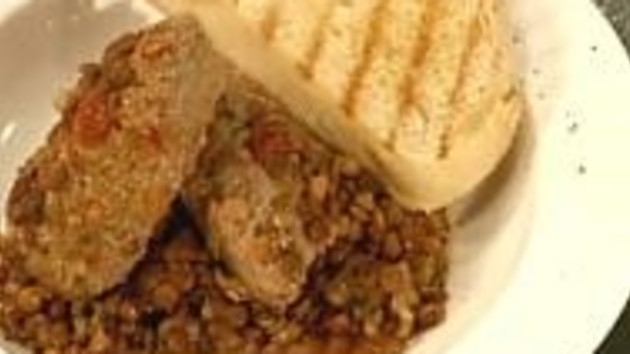 Home made sausages with lentils good food channel home made sausages with lentils forumfinder Image collections