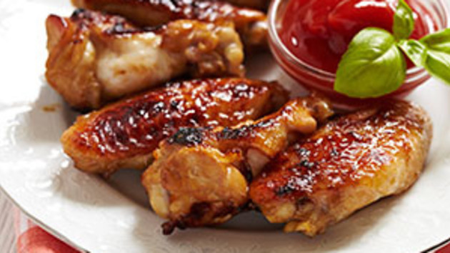 Easy chicken wings good food channel easy chicken wings forumfinder Images