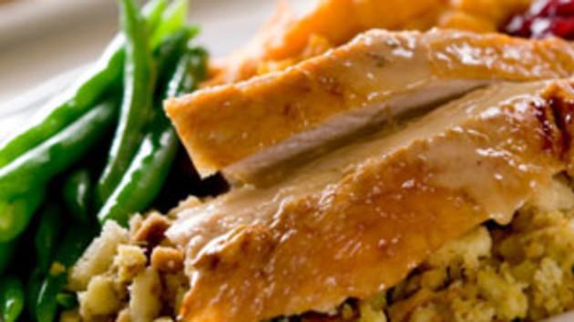 Roast turkey with chestnut stuffing good food channel roast turkey with chestnut stuffing forumfinder Choice Image