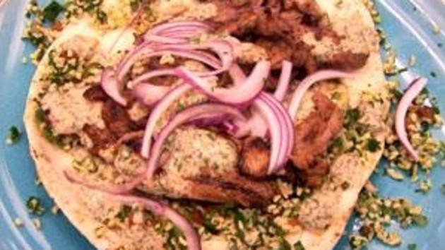 Arabic lamb shawarma good food channel arabic lamb shawarma forumfinder Image collections