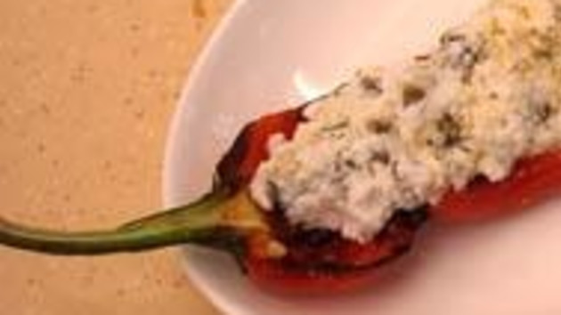 Stuffed red pimentos with ricotta rosemary and chilli olive oil stuffed red pimentos with ricotta rosemary and chilli olive oil forumfinder Image collections