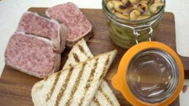 Venison pate with spicy pickle good food channel venison pate with spicy pickle forumfinder Image collections