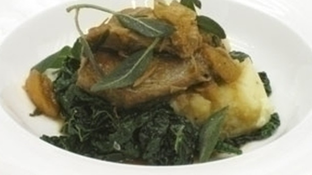 Pot roast pork with lemon and sage good food channel pot roast pork with lemon and sage forumfinder Choice Image