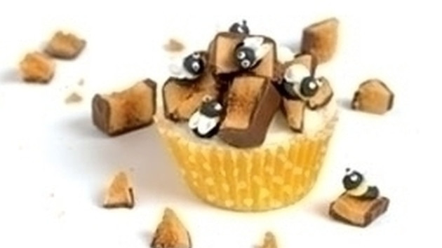 Honey cupcakes good food channel honey cupcakes forumfinder Image collections