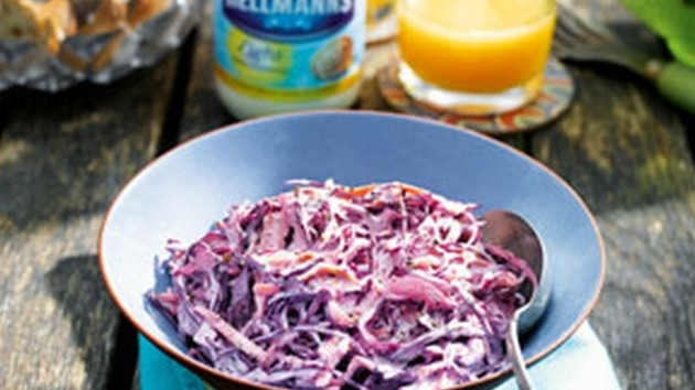 Red cabbage coleslaw good food channel red cabbage coleslaw forumfinder Choice Image