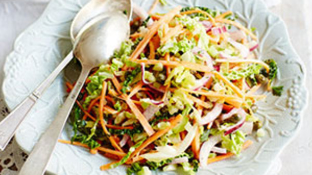 Summer coleslaw good food channel summer coleslaw forumfinder Choice Image