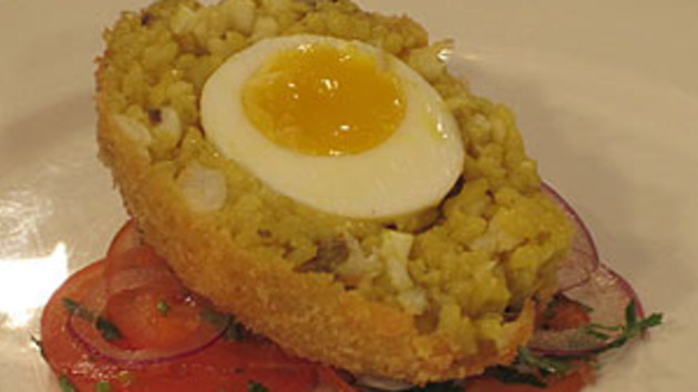 Scotch egg kedgeree good food channel scotch egg kedgeree forumfinder Choice Image