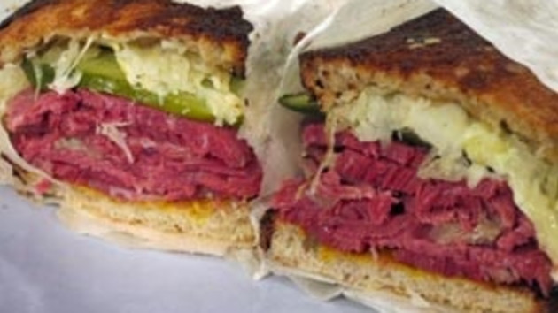 Salt Beef And Wensleydale Reubens
