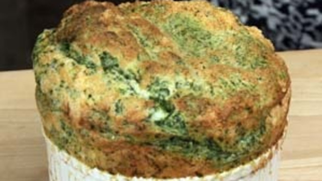 sole and spinach soufflé | good food channel