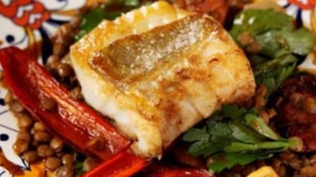 Cod and lentils good food channel cod and lentils forumfinder Image collections