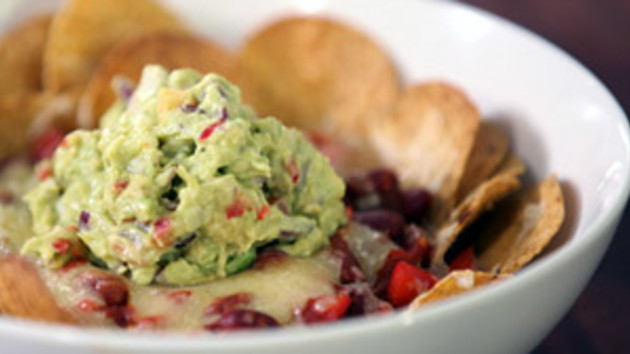 Vegetarian nachos with guacamole good food channel vegetarian nachos with guacamole forumfinder Gallery