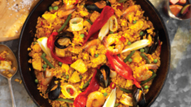One pot paella good food channel one pot paella forumfinder Image collections
