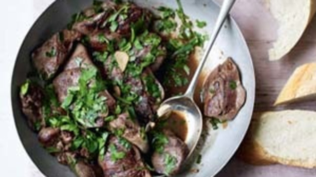 Chicken livers with sherry good food channel chicken livers with sherry forumfinder Images