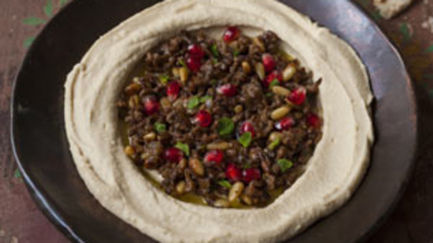 Hummus with lamb good food channel hummus with lamb forumfinder Images