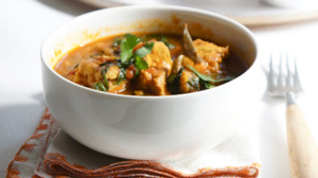 Chicken spinach and lentil curry good food channel chicken spinach and lentil curry forumfinder Choice Image