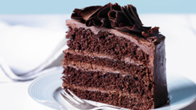 Chocolate mousse layer cake good food channel chocolate mousse layer cake forumfinder Choice Image