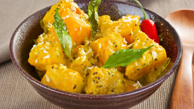 Spicy butternut curry good food channel spicy butternut curry forumfinder Image collections