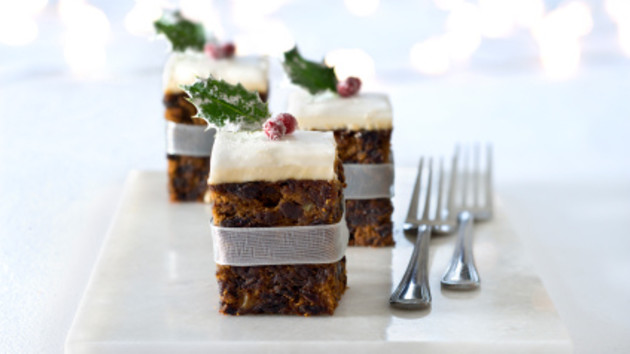 Mini christmas cakes good food channel mini christmas cakes forumfinder Gallery