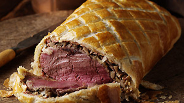 what to serve with beef wellington uk