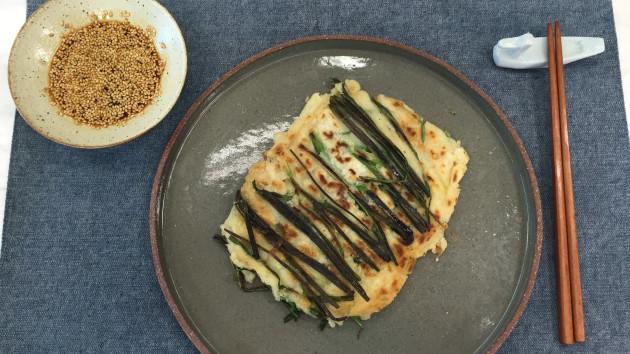 Pajeon seafood pancake john torodes korean food tour recipes pajeon seafood pancake forumfinder Gallery