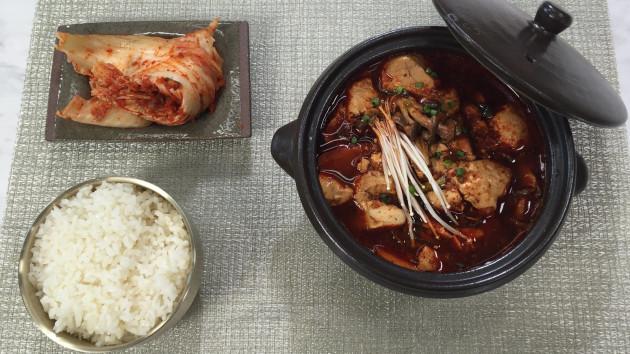 Sundubu jjigae soft tofu stew john torodes korean food tour sundubu jjigae soft tofu stew forumfinder Gallery