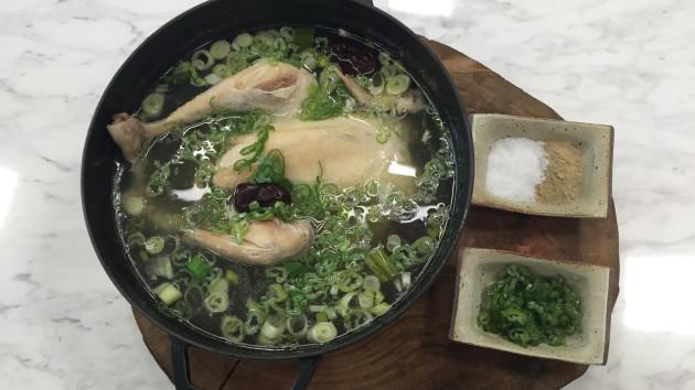 Samgyetang ginseng chicken soup john torodes korean food tour samgyetang ginseng chicken soup forumfinder Gallery