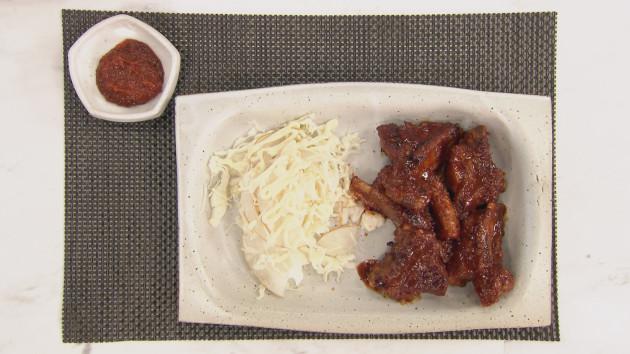Bbq dwaeji galbi spicy pork ribs john torodes korean food tour bbq dwaeji galbi spicy pork ribs forumfinder Gallery