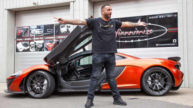 Celebrity car customiser drives off with new series on Dave | News on supercar show, supercar concept cars, supercar brands, supercar art, supercar design, supercar kit car, supercar wallpaper, supercar garage, supercar photography, supercar lineup,