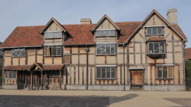 William Shakespeares Birthplace Stratford Upon Avon