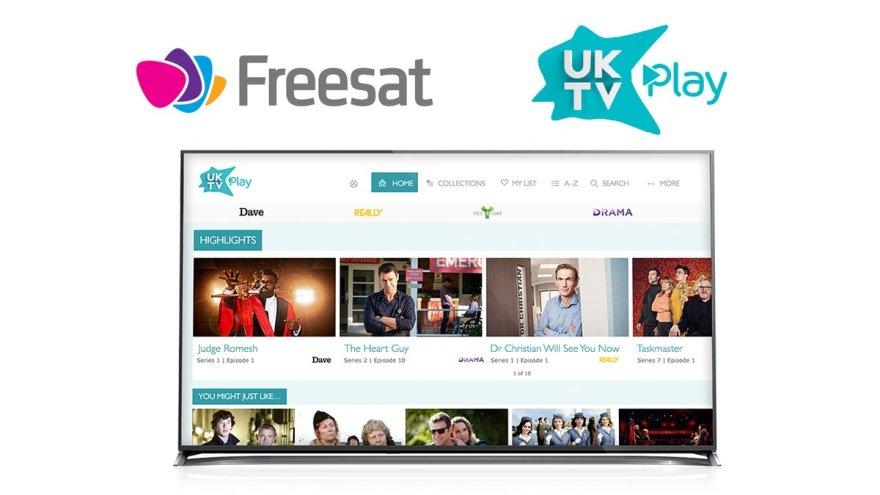 UKTV Play launches on Freesat | News | UKTV Corporate Site