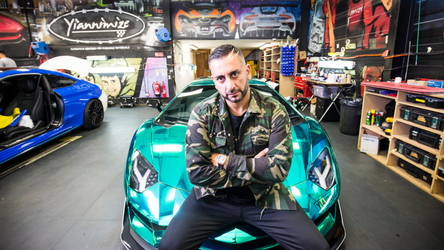 Yianni Supercar Customiser Dave Channel