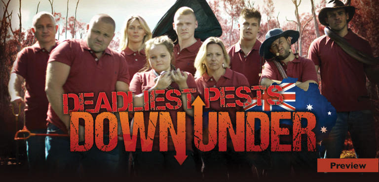 Deadliest Pests Down Under - See it first on UKTV Play