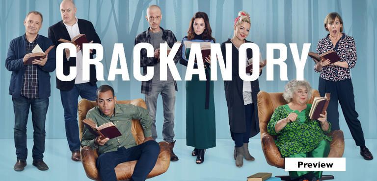 Crackanory Preview - See it first on UKTV Play