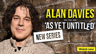 Alan Davies As Yet Untitled - See it First on UKTV Play