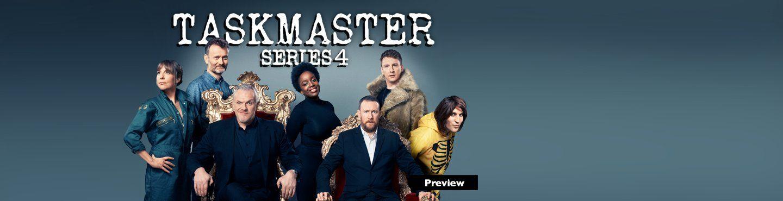 Taskmaster Series 4 - See It First on UKTV Play