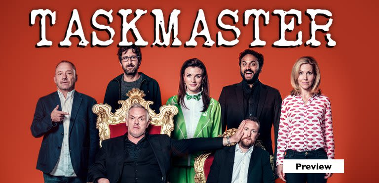 Taskmaster new series! See it first on UKTV Play