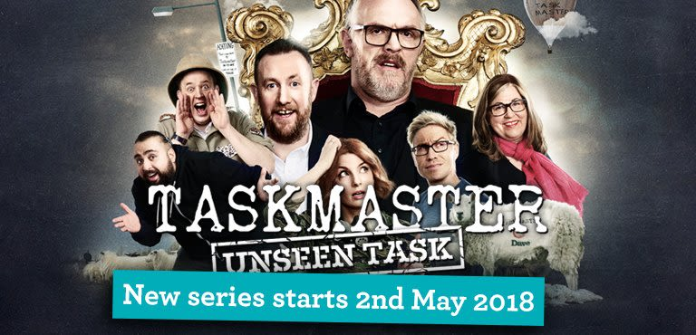 Taskmaster Unseen Task - Exclusive to UKTv Play
