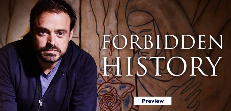 Forbidden History - see it first on UKTV Play