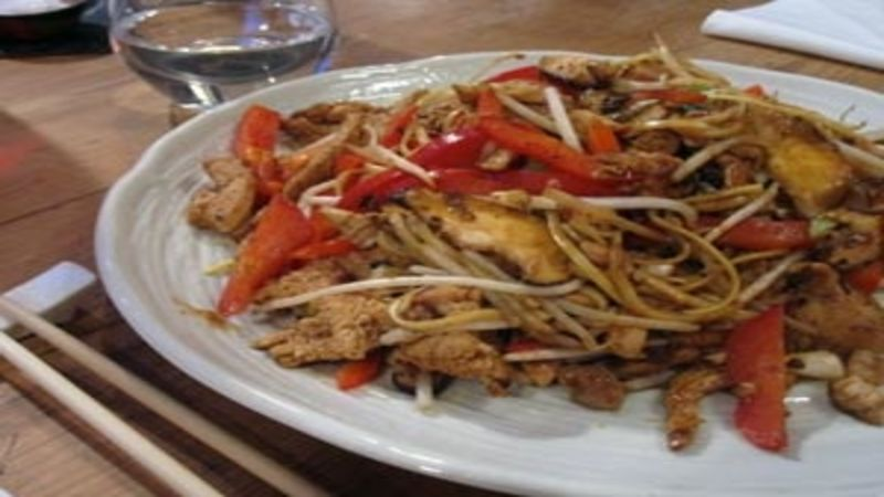 Chicken and mushroom chow mein good food channel forumfinder Gallery