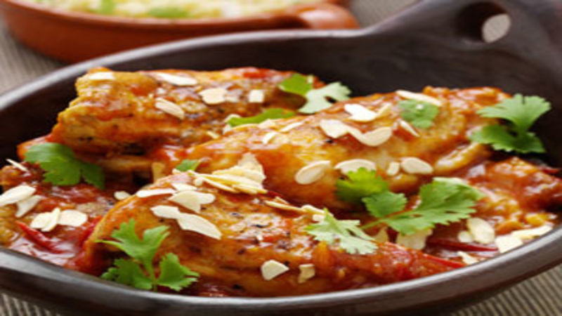 Moroccan chicken with saffron honey good food channel forumfinder Choice Image