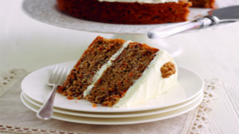 Mary berrys carrot and walnut cake good food channel forumfinder Choice Image