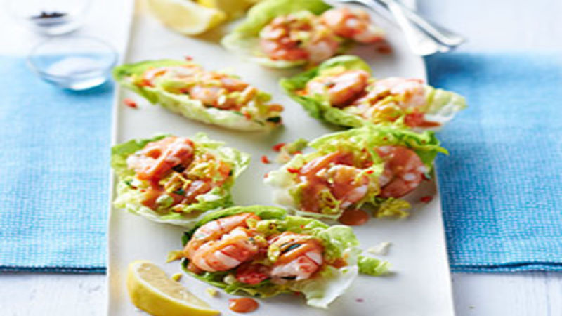 Prawn canapes ideas images galleries for Canape garnishes
